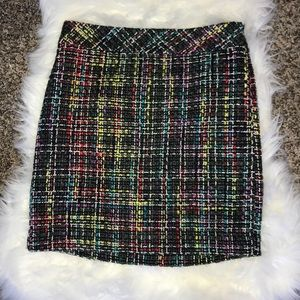 LOFT Tweed Skirt Size 0P NWT